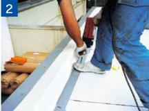 IB積層鋼板取付け画像